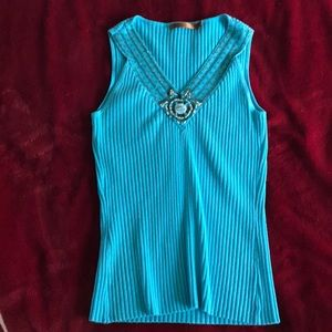 Belldini Turquoise with Beads sz S